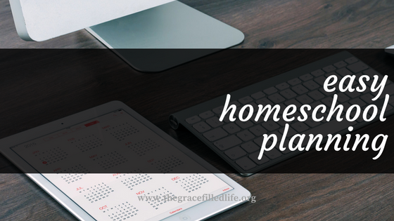 easily plan your homeschool year (1)