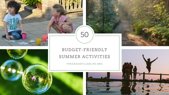 budget-friendlysummer activities