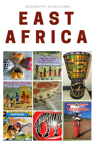 Amazing resources and ideas for an East Africa geography unit study.