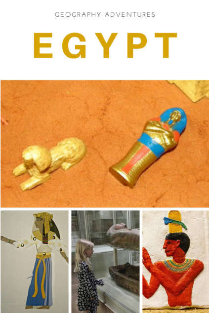 Cool geography activities and educational resources for an Ancient Egypt unit study!