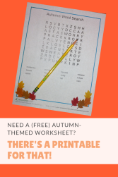Need a free autumn-themed reading worksheet? There's a printable for that!