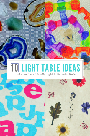 10 Light Table Ideas and One Budget-Friendly Light Table Substitute