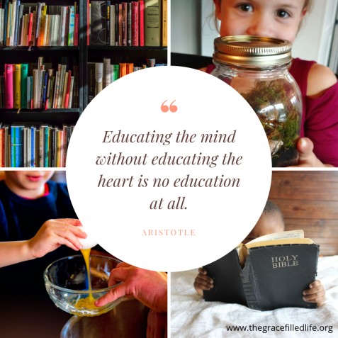 """Educating the mind without educating the heart is no education at all."" (Aristotle)"