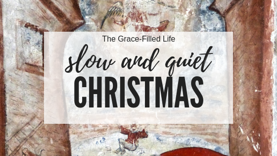 Why we're having a slow and quiet Christmas this year