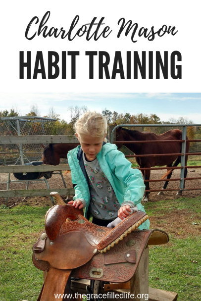 Charlotte Mason and habit training in home education