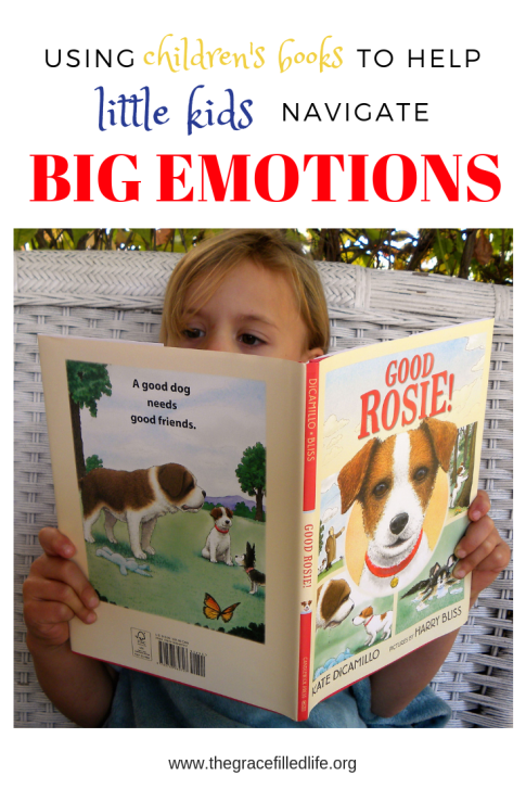 Seven Children's Books to Help Little Kids Navigate Big Emotions (includes discussion starters)