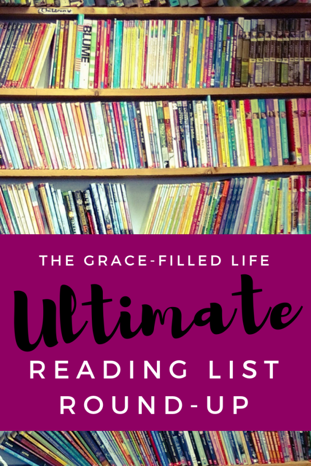 Pinterest image for The Grace-Filled Life's Ultimate Reading List Round-Up