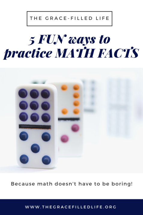 5 Fun Ways to Practice Math Facts