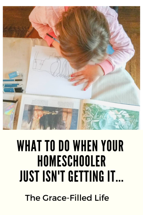 What to do when your homeschooler just isn't getting it...