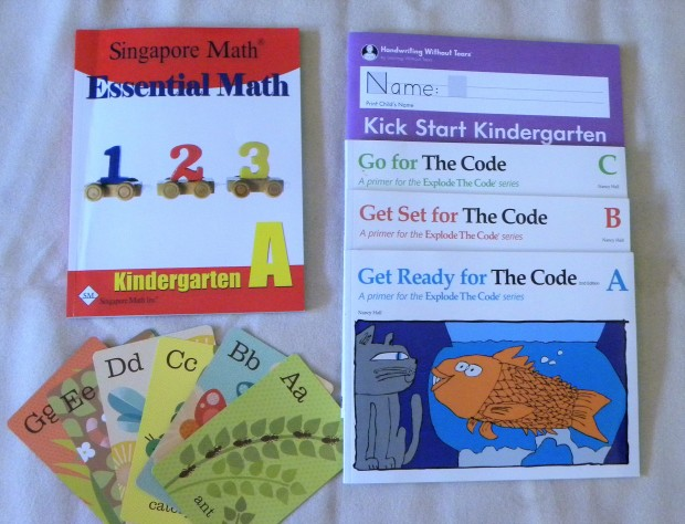 2019-2020 Homeschool Curriculum Choices for Kindergarten