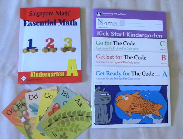 2019-2020 Homeschool Curriculum Choices for Kindergarten
